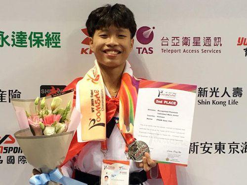 Nhà vô địch Taekwondo thế giới 2019 Phạm Quốc Việt: Nghị lực sau những tấm huy chương