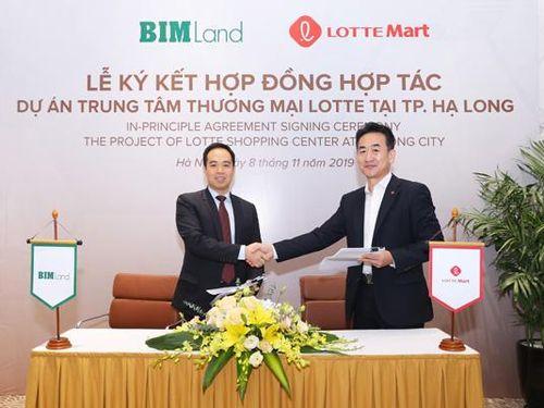 Bim Land hợp tác với Lotte Mart tại Hạ Long