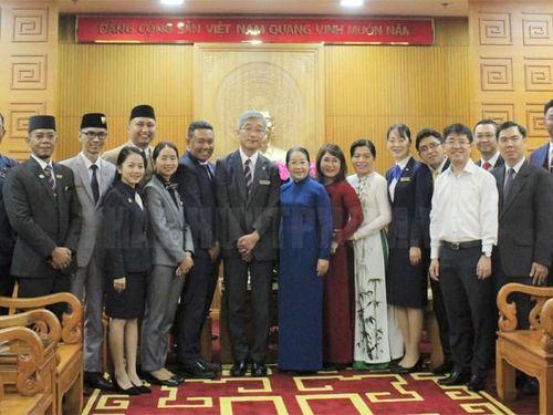 Thanh niên các nước Đông Nam Á và Nhật Bản thắt chặt tình hữu nghị