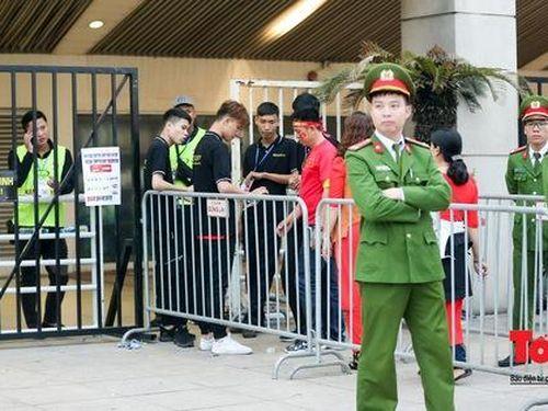 An ninh 'nhiều lớp' được triển khai trước trận Việt Nam - UAE thuộc vòng loại thứ 2 Word Cup 2022