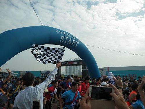 Hơn 500 người tham dự giải chạy Ekiden 'Nhật Bản trong lòng Việt Nam' 2019