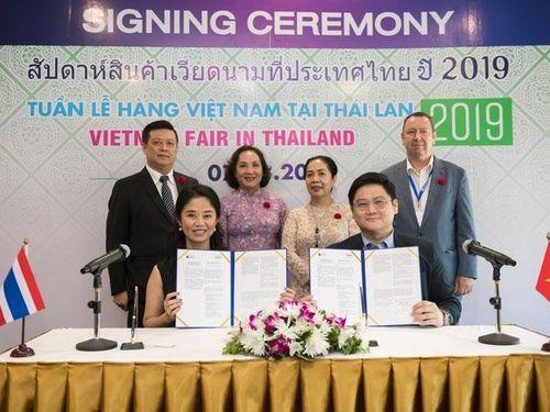 Cầu nối đưa hàng Việt sang Thái Lan
