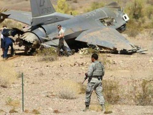 Tiêm kích F-16 của Mỹ lại rơi khi hạ cánh ở Hàn Quốc