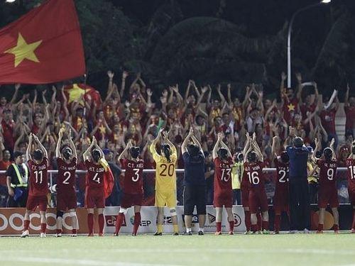 Đội tuyển nữ Việt Nam vào chung kết SEA Games 30