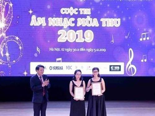 Bế mạc Cuộc thi Âm nhạc Mùa thu - 2019