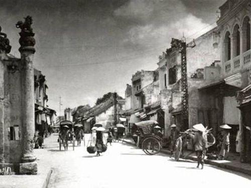 Các phố nghề của Thăng Long một thời vang bóng