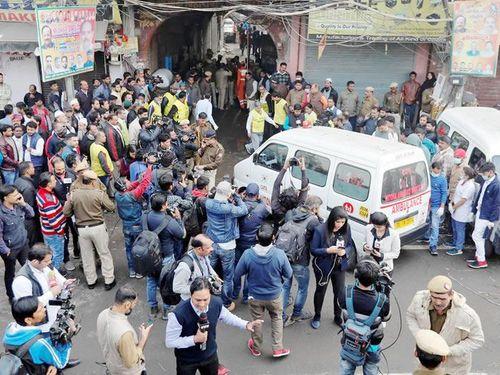 Cháy nhà máy ở New Delhi, ít nhất 43 người thiệt mạng