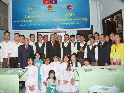 Phó Thủ tướng Thường trực Chính phủ gặp Chánh án TANDTC Lào