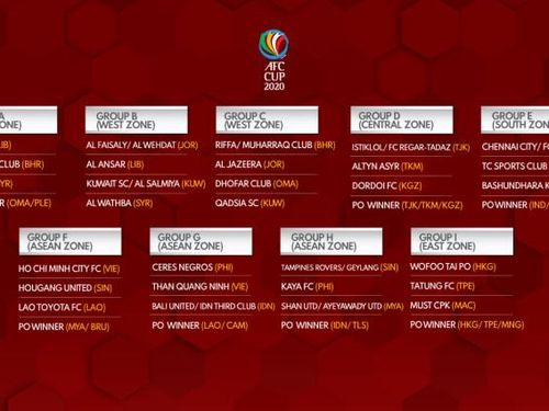 TP.Hồ Chí Minh ở bảng F và Than Quảng Ninh ở bảng G