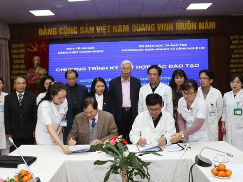 Ký kết Hợp tác đào tạo thực hành với Bệnh viện Thanh Nhàn