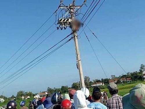 Một công nhân bị điện giật tử vong