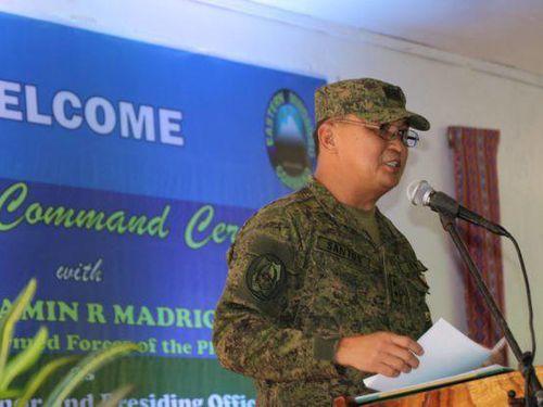 Tổng thống Philippines bổ nhiệm Tham mưu trưởng quân đội mới