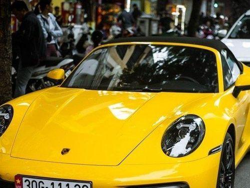 Chiêm ngưỡng chiếc Porsche 911 Carrera S Cabriolet 2020 đầu tiên về Việt Nam