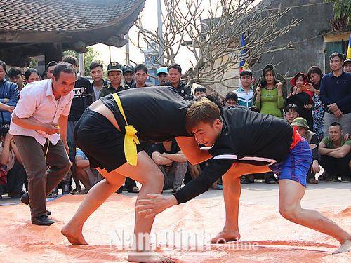 Nam Định: Nét đẹp văn hóa dân gian trong lễ hội mùa xuân ở Nam Trực