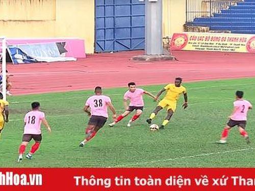 Giao hữu trước mùa giải 2020: Tân binh ghi bàn, Thanh Hóa đánh bại Hồng Lĩnh Hà Tĩnh