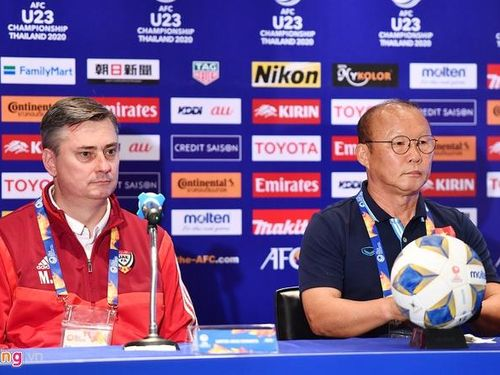 17 giờ 15 hôm nay 10-1: U.23 Việt Nam - U.23 UAE