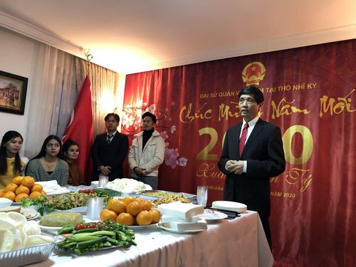 Đại sứ quán Việt Nam tại Thổ Nhĩ Kỳ tổ chức Tết cộng đồng 2020