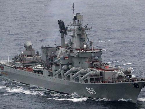 Tàu Nguyên soái Ustinov của Nga bất ngờ tiến vào Địa Trung Hải làm gì?