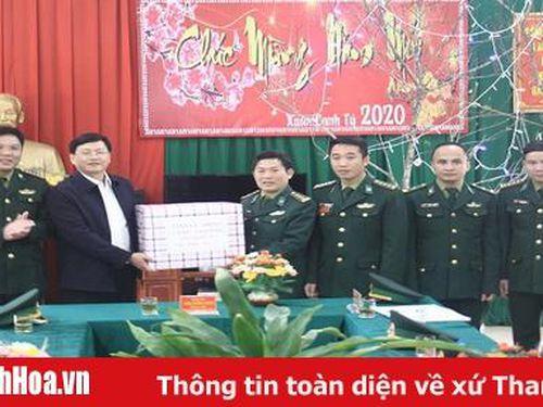 Phó Chủ tịch UBND tỉnh Mai Xuân Liêm thăm, chúc Tết tại huyện Mường Lát