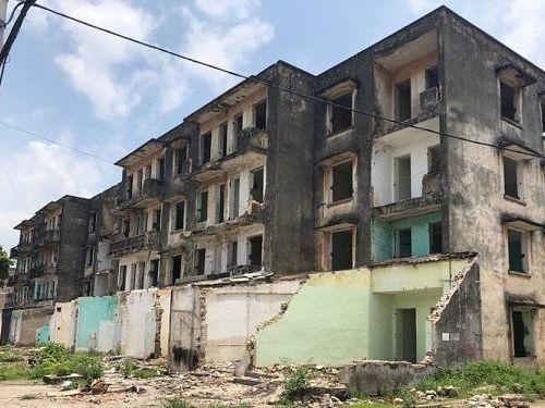 UBND tỉnh Thái Nguyên thông tin về việc phá dỡ nhà chung cư cũ ở TP Sông Công