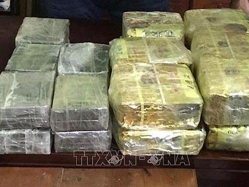 Phá đường dây ma túy 'khủng' từ Lào về Việt Nam