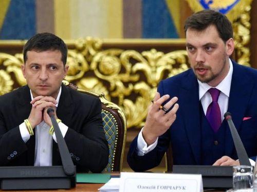 Động thái bất ngờ của Tổng thống Ukraine với Thủ tướng Honcharuk