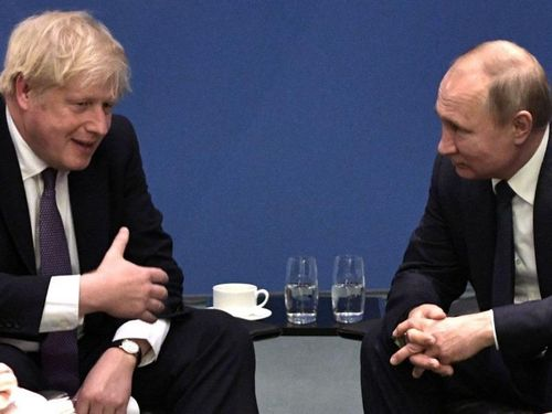 Gặp ông Putin, thủ tướng Anh nói rắn chưa bình thường quan hệ