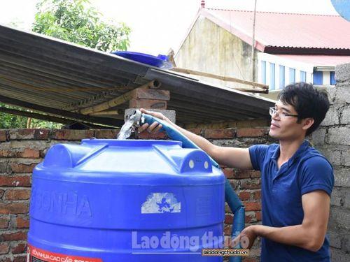 Hà Nội: 100% người dân được sử dụng nước sạch vào năm 2020
