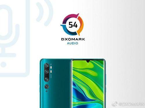 Mi CC9 Pro Premium Edition chỉ đạt 54 điểm Audio từ DxOMark