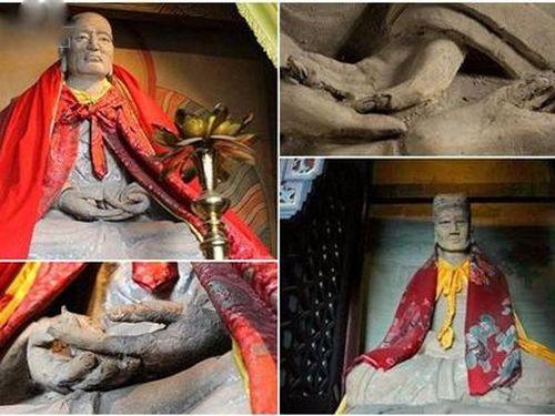Ngôi miếu kỳ dị nhất Trung Quốc: Trong mỗi pho tượng là 1 thân người, chế tạo trên 'nhục thân' của cao tăng