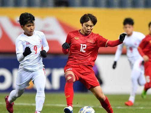 Đánh bại Myanmar, tuyển nữ Việt Nam vào vòng play-off tranh vé Olympic Tokyo