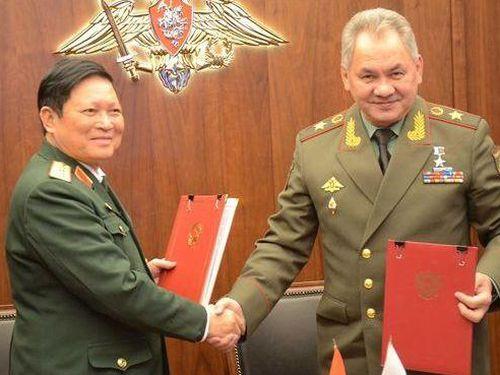 Hợp tác quốc phòng Việt-Nga vì hòa bình và ổn định ở khu vực