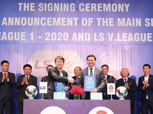V-League có nhà tài trợ từ Hàn Quốc