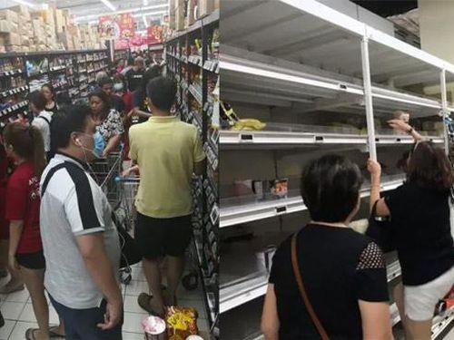 Người dân Singapore biến nhà thành siêu thị mini tích trữ thực phẩm vì sợ virus corona