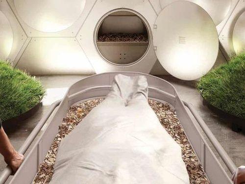 Ủ phân thi thể người chết, kiểu chôn cất mới trong tương lai