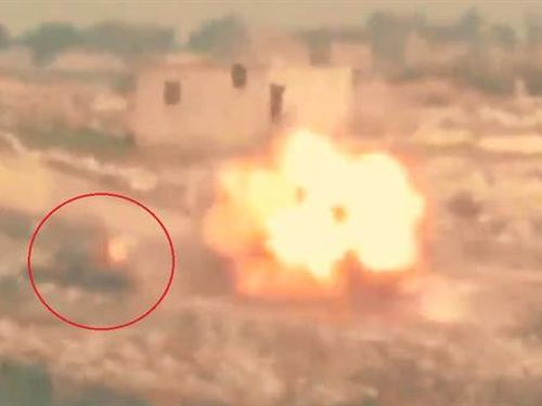 T-72AV Syria nổ tung sau cú thoát hiểm thần kỳ