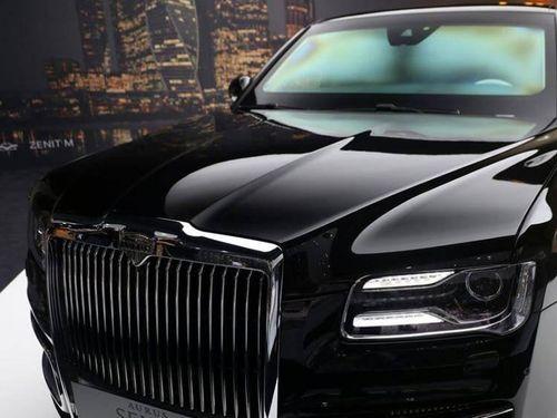 Xe hạng sang Aurus của Nga có 700 khách hàng đặt trước