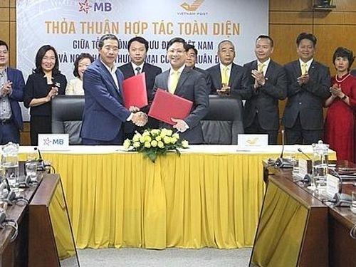 MB và Vietnam Post thống nhất triển khai thỏa thuận hợp tác toàn diện
