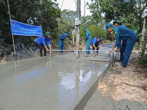 Tuổi trẻ Bình Định làm nhiều phần việc thiết thực trong Tháng thanh niên