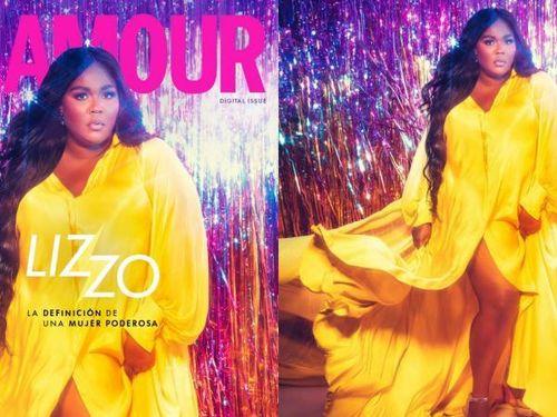 Nữ rapper đình đám Lizzo tự tin khoe thân hình ngoại cỡ trên bìa tạp chí