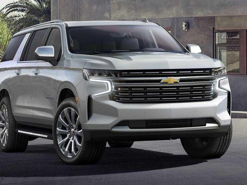 'Khủng long' Chevrolet Suburban 2021 nâng cấp toàn diện, giá không đổi