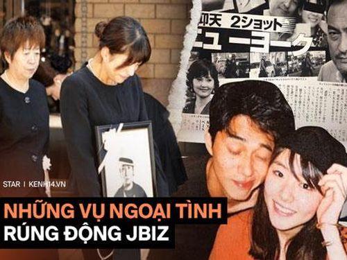 4 vụ ngoại tình rúng động showbiz Nhật Bản: Người 'tòm tem' với vợ bạn, kẻ khiến chồng uất ức tự sát