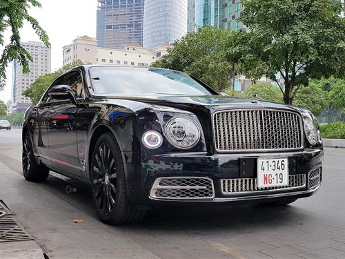 Bentley Mulsanne W.O. Edition bản giới hạn xuất hiện tại TP.HCM
