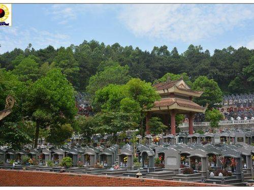 Nghĩa trang Thanh Tước vắng vẻ ngày Tết Thanh minh