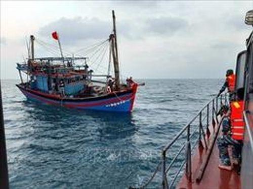 Xử lý kịp thời các sự cố trên biển