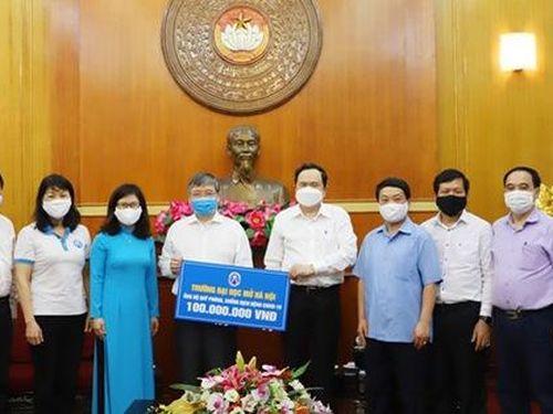 Mặt trận Tổ quốc Việt Nam: Tiếp nhận trên 875 tỷ đồng ủng hộ chống dịch