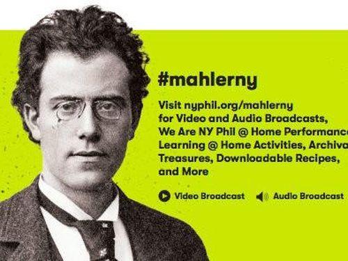 Xem miễn phí 10 symphony của Mahler từ dàn nhạc New York