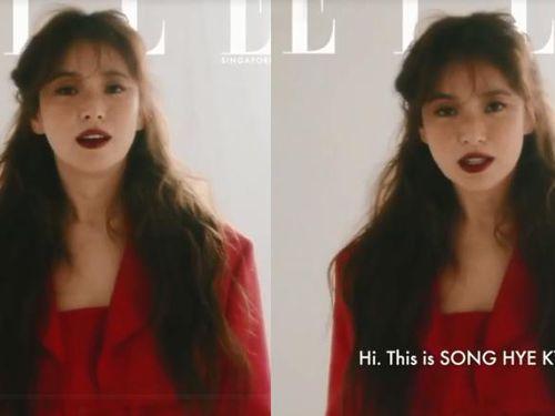 Song Hye Kyo tung ảnh nhan sắc hậu trường khác lạ gây tranh cãi