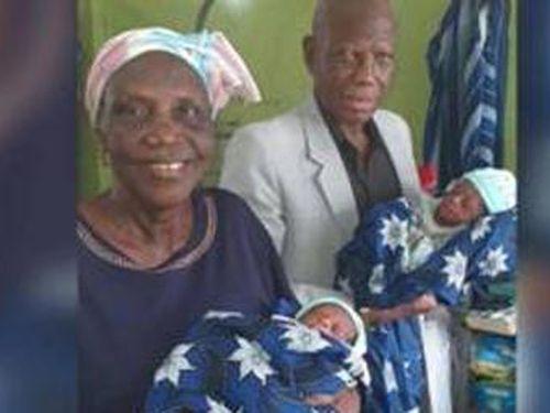 Người mẹ cao niên nhất thế giới đẻ sinh đôi từ IVF