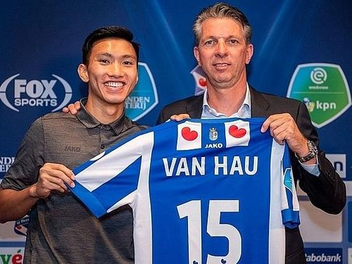 Văn Hậu sắp trở thành cầu thủ hưởng lương cao thứ 2 tại Heerenveen